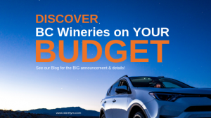 WineTym partners with Budget Car & Truck Rentals British Columbia